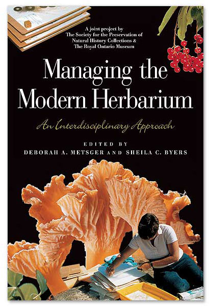 Managing the Modern Herbarium: book cover